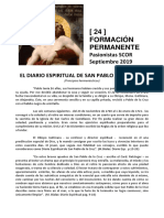 Formación Permanente SCOR 24 - El diario espiritual de San Pablo de la Cruz, Principios hermenéuticos