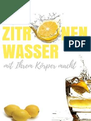 Wie man Gurken- und Zitronenwasser zubereitet, um Gewicht zu verlieren