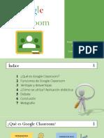 Google Classroom Presentación