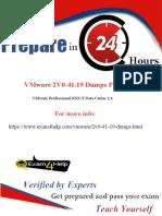 2V0-41.19 Dumps