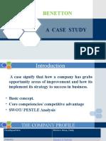 Final Ppt of Benetton