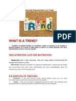 Understanding Elements and Characteristics of a Trend