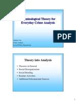 Crime Theory