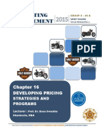 Developing Pricing Strategies and Progra