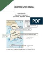 Contingency Evacuation Plan as of 10-5-10