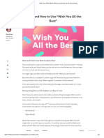 """""""Wish You All the Best""""–When and How to Use It _ Grammarly"""