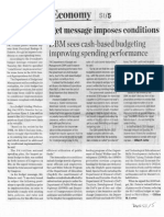 Business World, Jan. 9, 2020, Veto-less budget message imposes conditions DBM sees cash-based budgeting improving spending performance.pdf