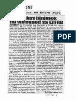 Hataw, Jan. 9, 2020, Angkas hinimok na sumunod sa LTFRB.pdf