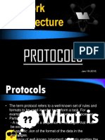 Network Architecture (Protocols) by Lanz Lowen Jay O. Bognot