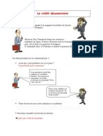 Le Credit Document a Ire Prof
