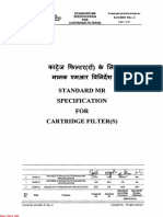 EIL Specifications( Cartridge Filter)-2017