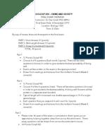Final Exam Overview _ Soci 250