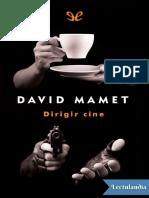 Dirigir cine - David Mamet.pdf