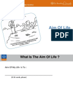 Aim of life - English