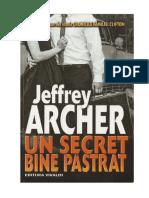 Jeffrey Archer-Un secret bine pastrat.pdf