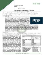 International Journal of Ayurveda and Pharma Research