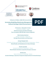 Surveying Modelling Monitoring Management BIM-GIS Based Course