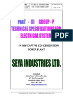 II-P - Technical Specs for Electrical Distribution - Rev1