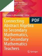 COnnecting Abstract Algebra to Secondary Mathematics Teachers.pdf