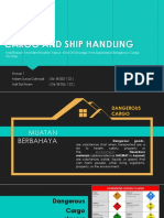 CARGO AND SHIP HANDLING