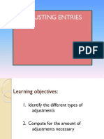 adjusting entries FS
