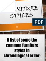 Furniture and Fittings Styles.ppt