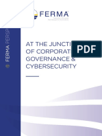 at the junction of corporate governance & cybersecurity