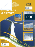 Scoping Report for Wind Power Project 1