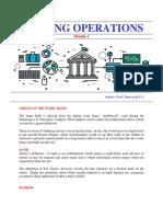 Banking Module-1