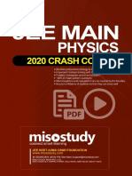Crash Course JEE Main Sample eBook