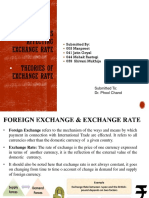 Factor Affecting the exchange rate & Theories of exchange rate