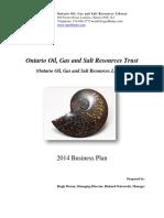 2014 Oogsrt Business Plan