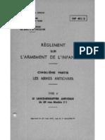 Lance-Roquette Francais LRAC de 89 Mm Mle F1, InF 401-5