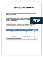 Announcement 2-13-MDS-AN012