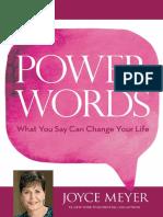 Speak Power words