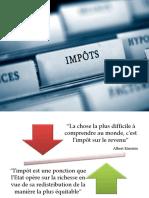 expose sur la fiscalité