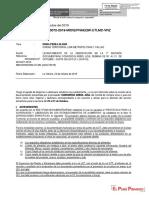 LEVANTAMIENTO DE LA OBSERVACION DE LA 1° REV. DOC. ARBOL AZUL CARTA N° 236 F.I. 24.10 DEL 28 AL 31 OCT. INF. 72 - VRZ