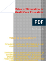 The Value of Simulation in Health Care Education-Thusitha aka