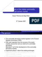 5 Case Study of the Indian Commodities Derivative Market