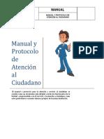 Manual y Protocolo de Atención al Ciudadano Colombiano