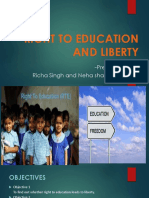 Right to education and liberty (1)
