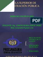DERECHO DISCIPLINARIO COLOMBIANO