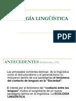 Ecología lingüística