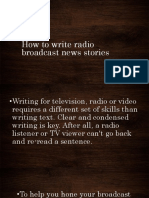 How to write radio broadcast news stories.pptx