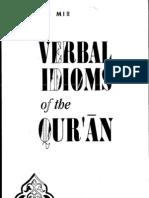 Verbal Idioms of The Quran by Mustansir Mir