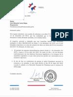 Gobierno del Bicentenario se negó a responder 12 nuevas preguntas concretas del Oficio TC-001-2019 de #AcabemosConLasPensionesDeLujoYA - DM-005-2020