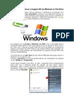 Como gravar e colocar a imagem ISO do Windows no Pen Drive