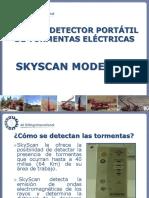Uso del detector de tormentas eléctricas