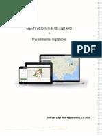 LBS Edge Suite License Registration  Migration - Spanish