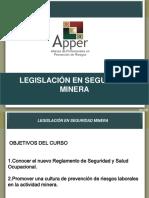 Curso Legislacion seguridad PPT